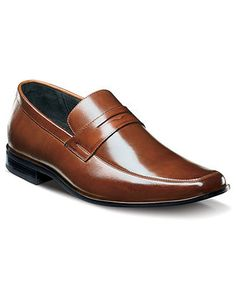 Stacy Adams Shoes, Bedford Plain Toe Loafers - Mens Loafers & Slip-Ons - Macy's