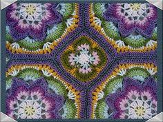 Ravelry: ChristiScalera's Lotus Tiles