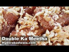 Double Ka Meetha Recipe Video How To Make Hyderabadi Double Ka Meetha Easy Simple