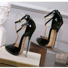 Stilettos, Women's Pumps, Pump Shoes, Shoes Heels, Bling Wedding Shoes, Wedding Pumps, High Heel Stiefel, Extreme High Heels, Spike Heels