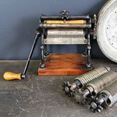 Antique Pasta Maker, $154, now featured on Fab.