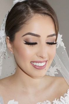 Need wedding makeup ideas? Our collection is a life saver. Get inspiration for your day and look stunning. We are sure you will love them as much as we do. #weddingdaymakeup