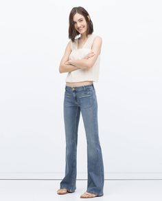 BOOTCUT DENIM JEANS-Woman-NEW THIS WEEK | ZARA United States