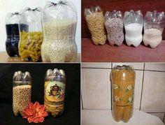 Plastic bottles ;)