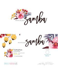 Etsy Shop Cover Design - Pre-made and Custom Design for WordPress Website or Blog Header by The Paris Studio
