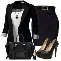 Chic Professional Woman Outfit. work outfit