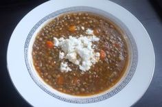 Greek Lentil Soup (Fakhes) – In The Kitchen With Zoe