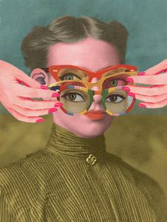 TRIFOCALS collage by julia lillard