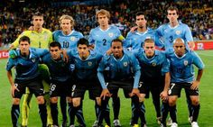 Equipo de Uruguay en el mundial