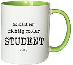 Der Kaffeebecher cooler Student ist passend zum Erstsemstertag und Unistart. Ein täglicher Begleiter durch die Unizeit mit Witz. Auch als Geschenk zum Einzug in die Erste Studentenbude geeignet.