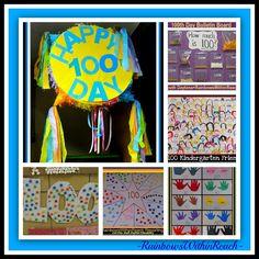 100th Day RoundUP of Ideas! via RainbowsWithinReach