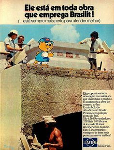 Telhas Brasilit #Brasil #anos70 #retro #anunciosAntigos #vintageAds