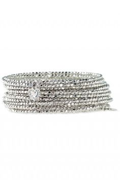 Stella and Dot - Bardot spiral bangle. I'd love both gold and silver.