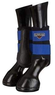 LeMieux Lambskin Wrapround Over Reach Boots Pair Hufglocken