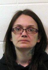 Jessica Lee Jensen, of Kenmare, N.D. Authorities say her 13-year-old son weighed 21 pounds when he died in January; she has been charged with murder.