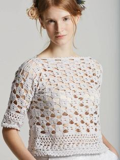 Aster crochet pattern from Rowan Filigree Collection Three 2015