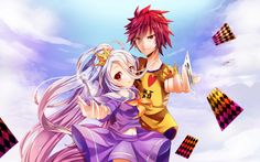 Anime No Game No Life Shiro (No Game No Life) Sora (No Game No Life) Tapeta