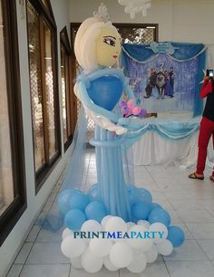 Poolside Frozen party Birthday Party Ideas | Photo 1 of 22 | Catch My Party