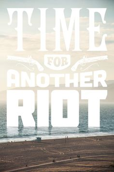 Time for another Riot Art Print