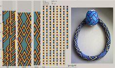 Galería de punto flagelos shnurikov y los patrones les | biser.info - todo sobre cuentas y cuentas de trabajo