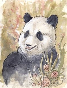 Panda by ~Kitsune-Seven on deviantART