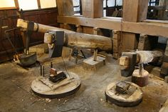 barumscout is undergoing maintenance Blacksmith Power Hammer, Blacksmith Forge, Factory Work, Museum, Blacksmithing, Industrial, Explore, Steampunk, Shops