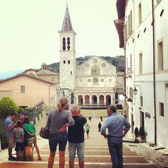 Il Duomo di #Spoleto durante il Festival dei 2 Mondi