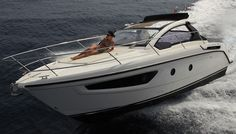Atlantis Yachts' Small, Sporty New Model   Boating & Yachting