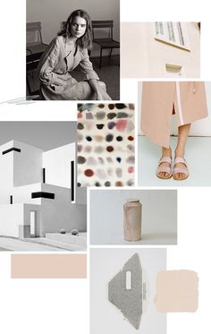 Jessica Comingore Blog - Color Collage: Just Peachy