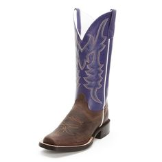 Get rough and rowdy in this Horse Power Cowboy Boot. This men's boot features a brown bison leather foot with a purple shaft. Double stitch welt and leather sole. Boots Cowboy, Bison, Purple, Leather, Men, Shoes, Fashion, Moda, Zapatos