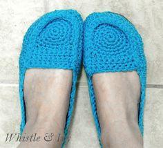 Women's Loafer Slippers FREE CROCHET pattern! « The Yarn Box