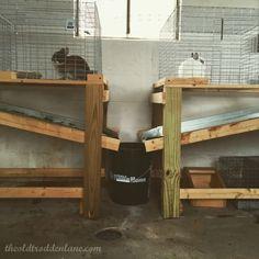 efficient rabbit poop collector funnel, slope, tray, catcher, elimination
