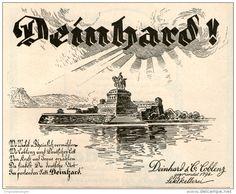 Original-Werbung/ Anzeige 1924 - DEINHARD SEKT / SEKTKELLEREI COBLENZ - ca. 140 x 110 mm
