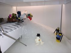 Our ice maker went crazy so I made the best of a bad situation with some minifig help. - Imgur