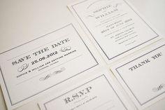 Vintage Wedding Invitation Printable  1920s Art by ThreeEggsDesign, $79.00