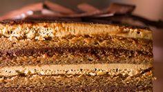INGREDIENTE PENTRU BLATURI 5 albusuri 50 g zahar 250 g faina de migdale 250 g zahar pudra 80 g faina 5 oua 40 g unt cateva picaturi zeama de lamaie 80 g ciocolata neagra 1 lingura ulei de floarea soarelui/cocos INGREDIENTE PENTRU CREMA DE CAFEA 150 g lapte 30 g boabe de cafea 100 g … Romanian Desserts, Cheesecake Brownies, Vanilla Cake, Banana Bread, Sweet Treats, Dessert Recipes, Food And Drink, Sweets, Cooking