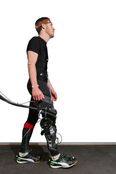 Dynamic Estimation of Human Knee Joint Impedance during Gait