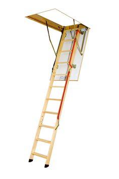 Scara modulara din lemn alcatuita din 3 parti pliabile - LWL Lux