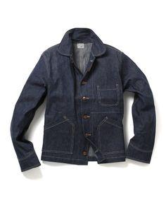 "Orslow × fennica ""NEW STANDARD"" Denim Jacket Men, Shirt Jacket, Denim Jackets, Denim Top, Men's Denim, Japanese Denim, Work Jackets, Denim Outfit, Western Shirts"