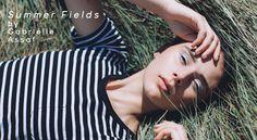 Fashion Editorial: Summer Fields by Gabrielle Assaf