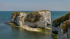 There are fine views of Old Harry Rocks from the South West Coast Path © National Trust/Will Wilkinson Dorset Beaches, Harry Rocks, South West Coast Path, Farm Gate, Beach Cars, Jurassic Coast, Great Walks, Famous Landmarks, Days Out
