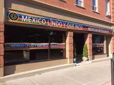 Speedpro Signs Kingston completed the graphics on this 2' x 35' LONG storefront sign. Mexican food anyone?! MMMM....