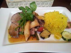 Pork with ethnicrice