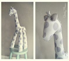 The Giraffe Pattern, totally cute and easy to make
