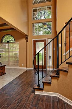 Iron Stair Railing Design, Pictures, Remodel, Decor and Ideas - page 3