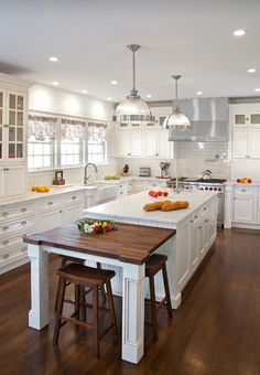 Kitchen Island Eating Area kitchen with island and island eating area. hahn builders. | home