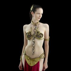DIY princess Leia metal bikini - I am pinning this not just for the costume, which is fantastic in its own rite, but for the page links and instructions.....a wealth of info for DIY molds and costumes, etc.