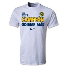 Club America 2013 Clausura Champions T-Shirt
