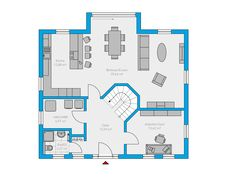 Clarus 180 - Spektral-Haus Small Modern Home, House Floor Plans, Planer, Bungalow, Sweet Home, Flooring, How To Plan, Home Decor, Ideas