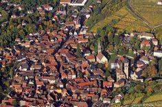 ✈️ Photo aérienne de : Ribeauvillé - Haut-Rhin (68)